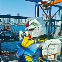 Yokohama's Giant Moving Gundam Robot Gets a Debut Date