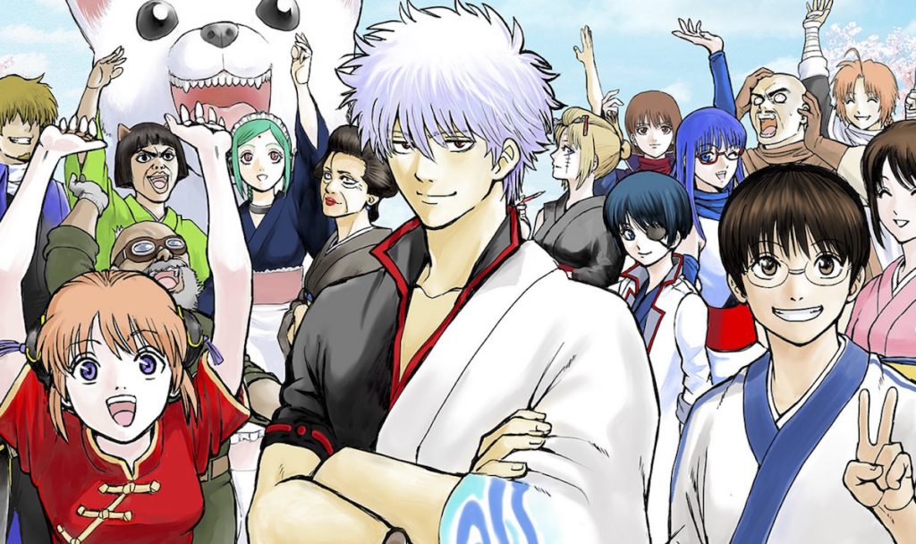 Gintama THE FINAL Movie Shows Off Main Cast's Character Sheets