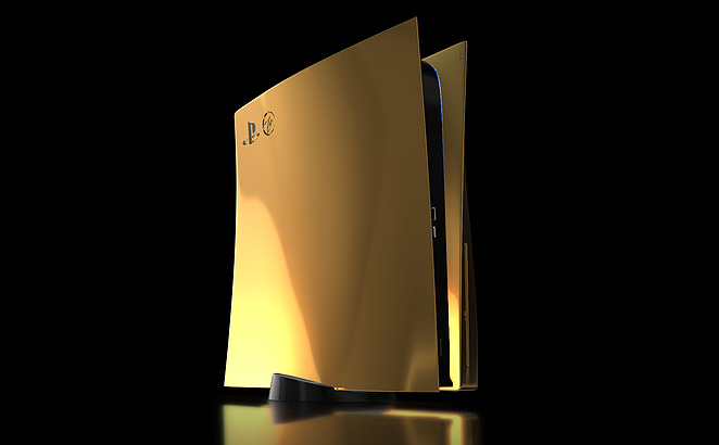 Sony's PlayStation 5 Will Cost You $10,000 if You Want It in 24k Gold