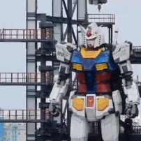 This Giant Gundam Robot in Yokohama Actually Moves