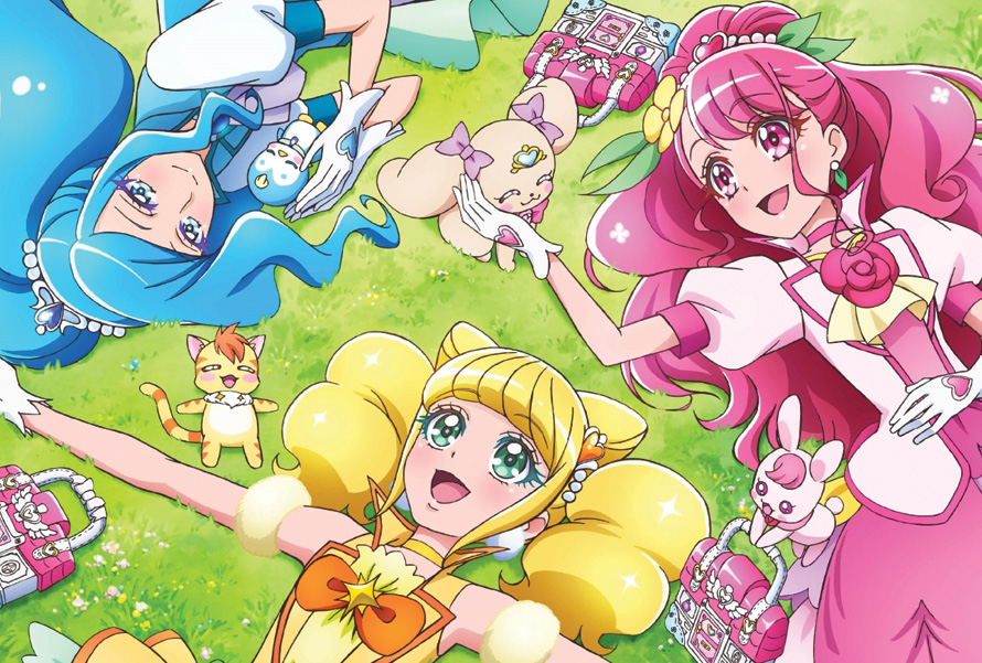 Healin' Good Pretty Cure anime