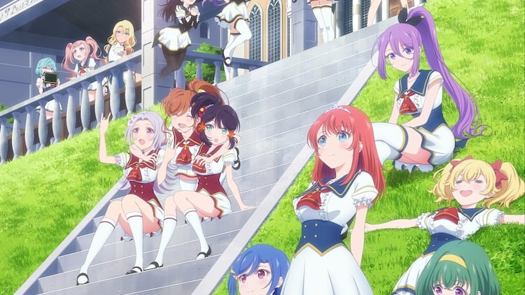 The Girls of Lapis Re:LiGHTs