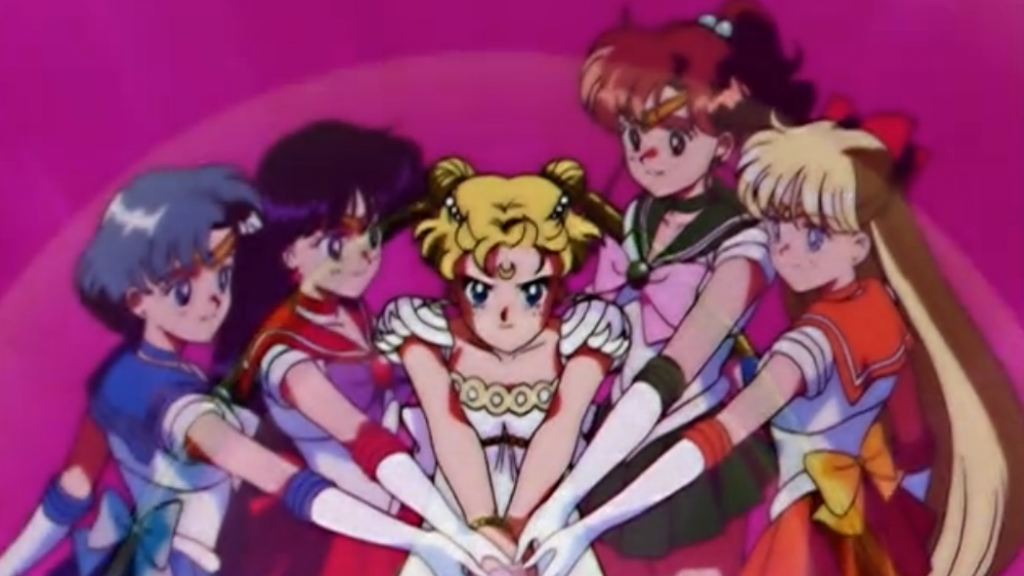 Sailor Moon and the Sailor Guardians