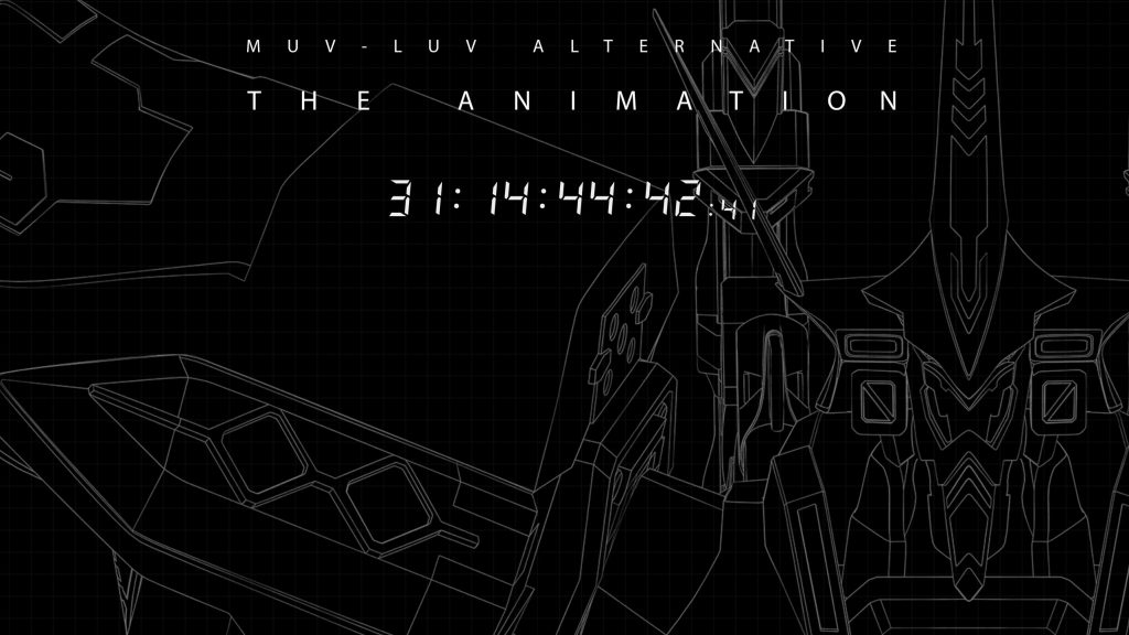 Muv-Luv Alternative Anime Site Starts Countdown to October 24