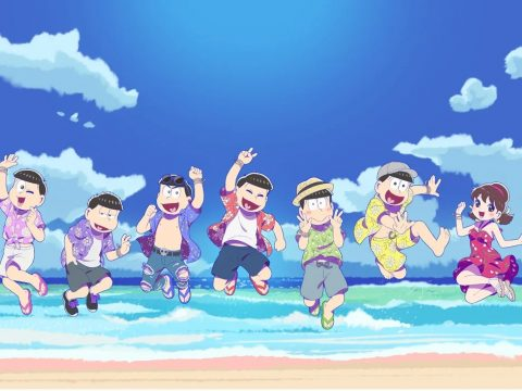 Mr. Osomatsu Key Visual Hits the Beach to Hype Season 3