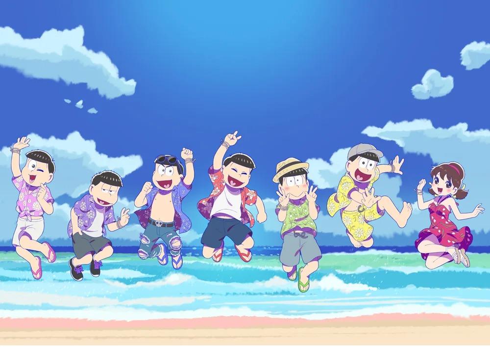 Mr. Osomatsu Key Visual Hits the Beach to Hype Season 3