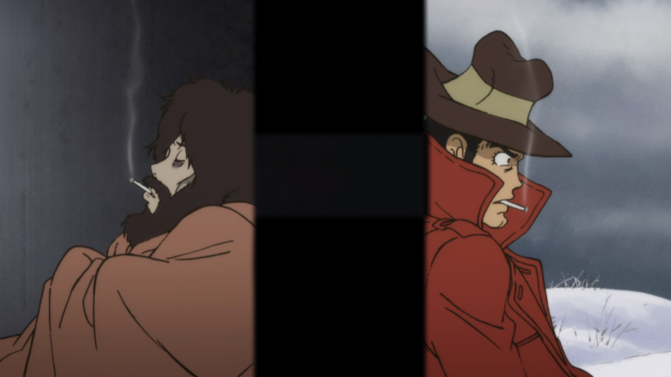 Lupin and Zenigata have a heart-to-heart