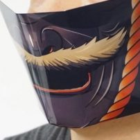 Be a Warrior Against COVID with New Samurai Masks