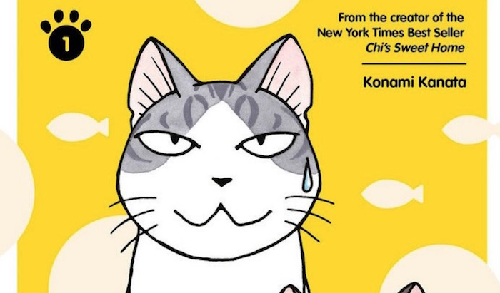 Sue & Tai-Chan Is More Cat Goodness from Chi's Sweet Home Creator