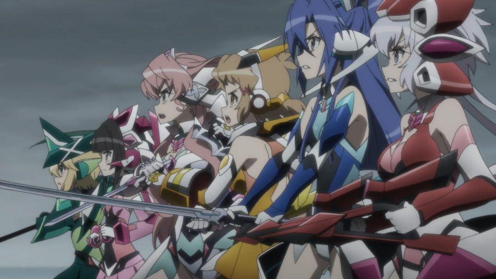 The heroes of Symphogear