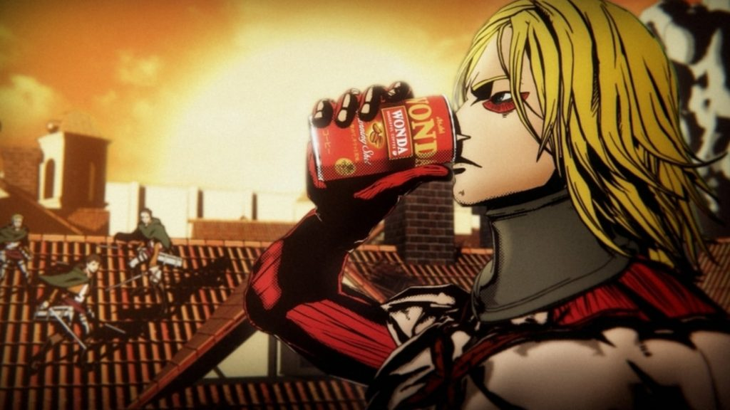 X Japan's Yoshiki Transforms into a Titan for Coffee Ad