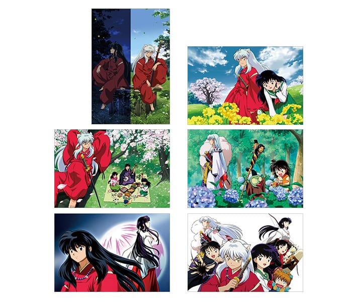 inuyasha postcards