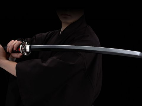 Life-Sized Replica Puts Tanjiro's Demon Slayer Sword in Your Hands