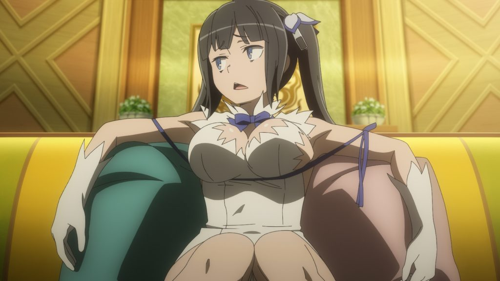 Catch the Latest Season of Is It Wrong to Try to Pick Up Girls in a Dungeon? on HIDIVE!