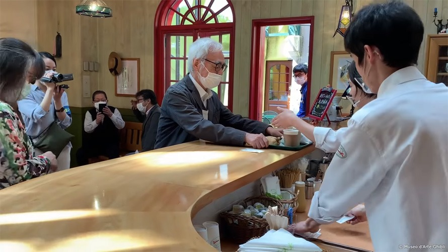 Hayao Miyazaki Eats at Studio Ghibli Café Like Any Other Customer