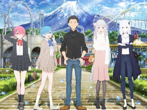 Re:ZERO Collaboration Heads to Fuji-Q Highland Amusement Park
