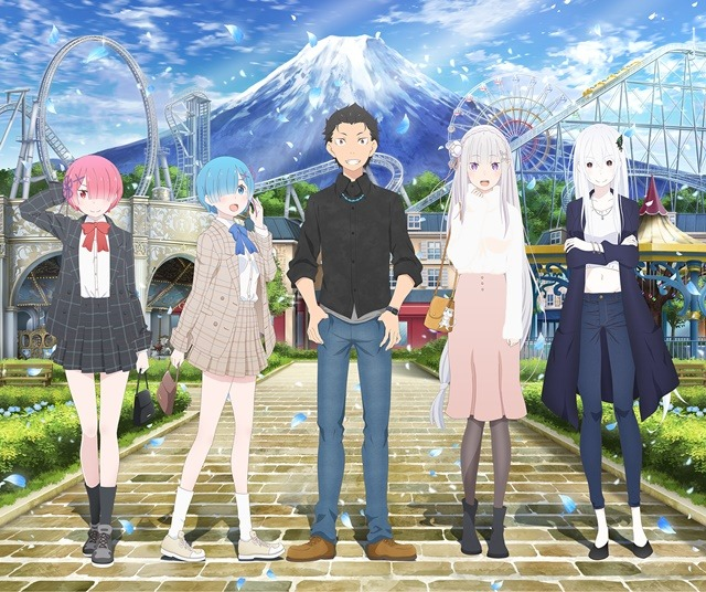 re:zero collaboration