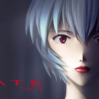 "Evangelion's Rei Ayanami Models ""Red Nude Rouge"" Lipstick"