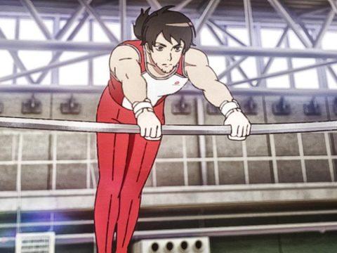 Olympic Gymnast Kohei Uchimura Plugs Gymnastics Samurai Anime