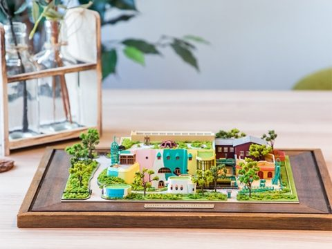 """Visit"" the Ghibli Museum with This Museum Papercraft Kit"