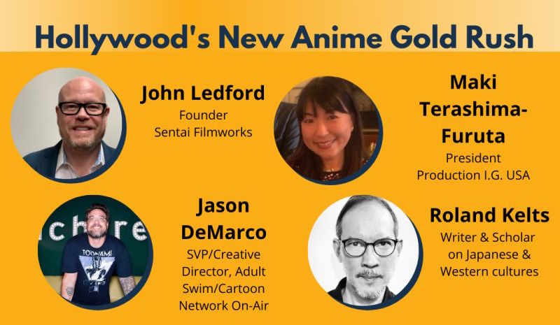 "Industry Figures from Adult Swim, Sentai, Production I.G Talk ""Hollywood's New Anime Gold Rush"""