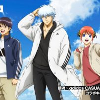 Gintama Mixes It Up with Adidas in New Collaboration