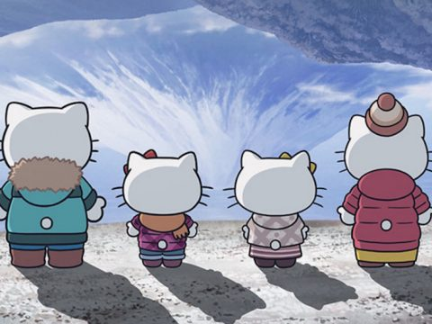 Hello Kitty Gets Cozy with Laid-Back Camp Anime Collaboration