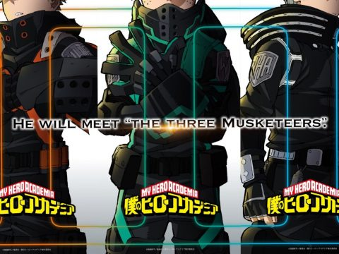 My Hero Academia Teaser Visual Appears Across Social Media