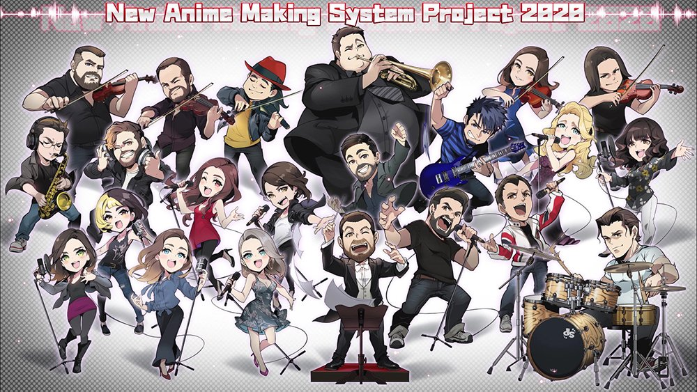 New Anime Making System Project Wants Animators Paid Better in Japan