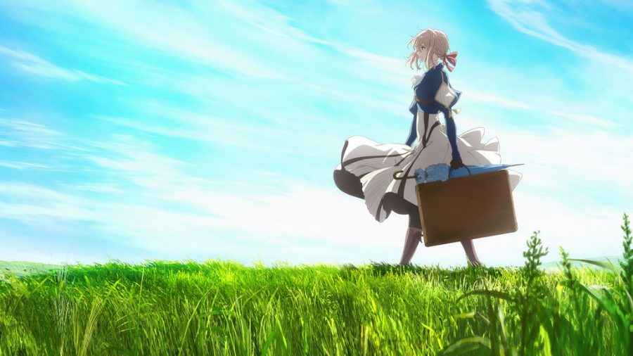 From Violet Evergarden — just breathe in that anime aesthetic