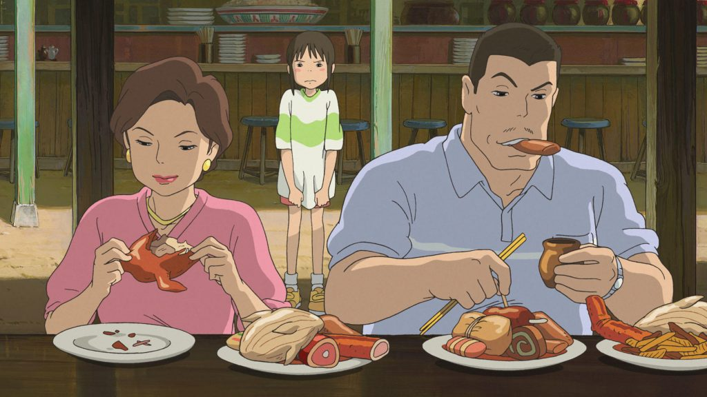 Delicious and malicious — food from Spirited Away