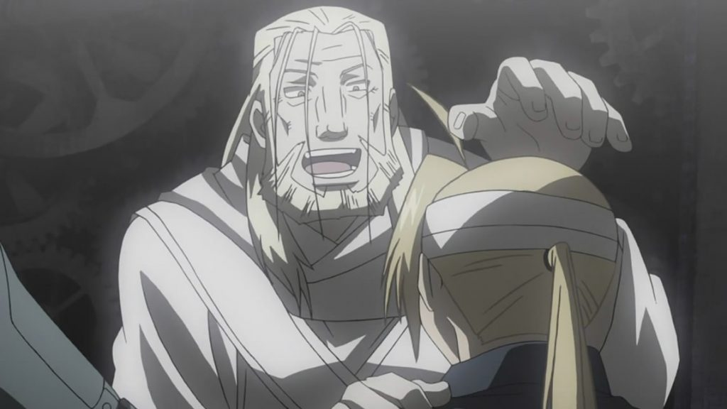 Father of Fullmetal Alchemist: Brotherhood - a kamidere bottle goblin