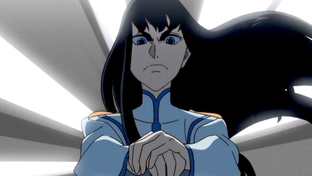 Satsuki Kiryuin, the kamidere queen of Kill La Kill
