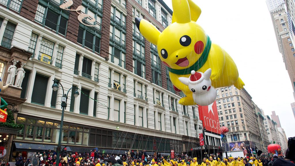 Pikachu has a spot in the Macy's Parade