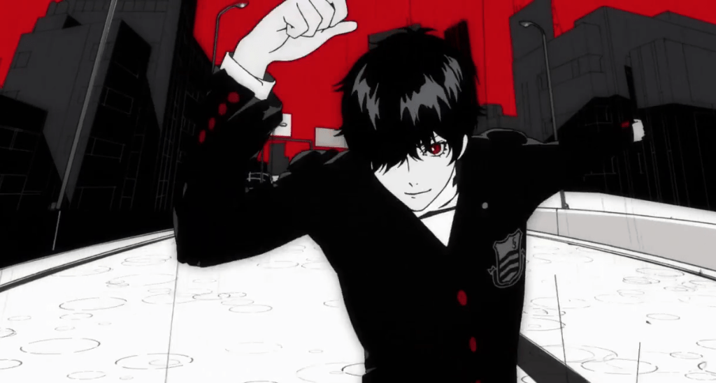 Persona 5's iconic opening