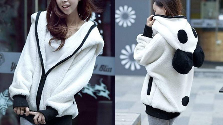 #1 panda hoodie