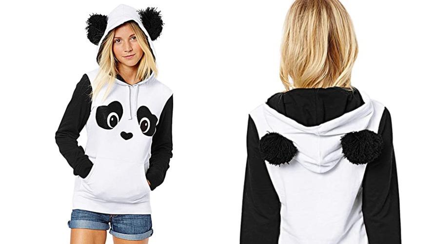#2 panda hoodie