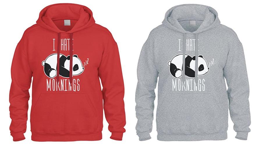 #3 panda hoodie