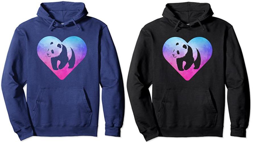 #4 panda hoodie