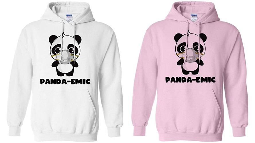 #5 panda hoodie