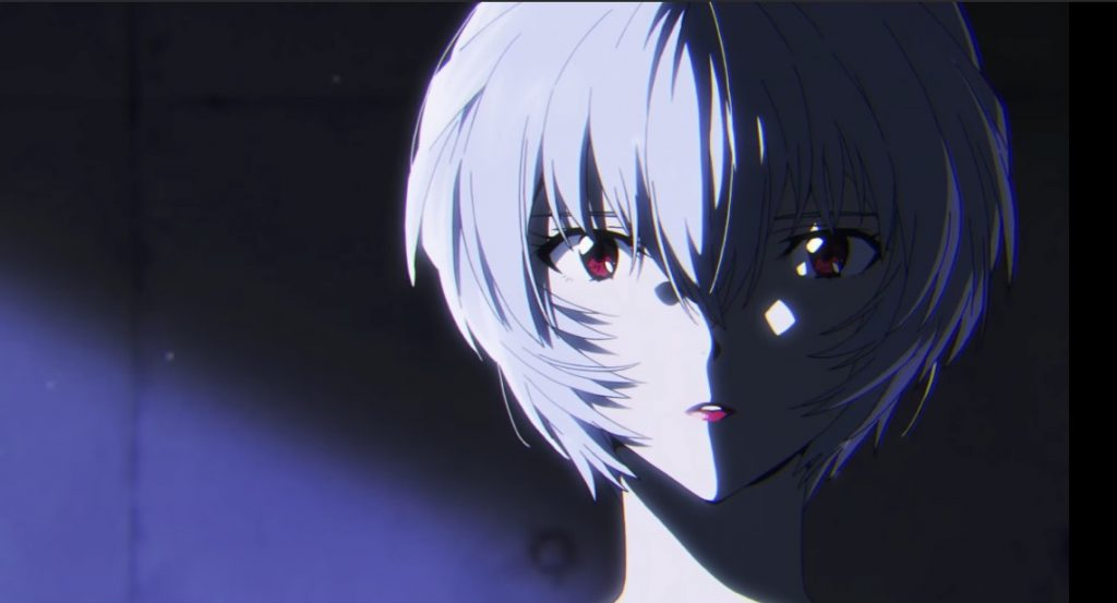 Evangelion's Rei Ayanami Pops on Lipstick in Makeup Collab Video