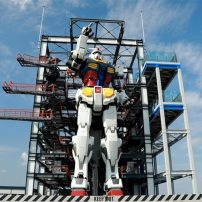 Watch as Yokohama's Giant Gundam Takes Its First Steps in the Spotlight