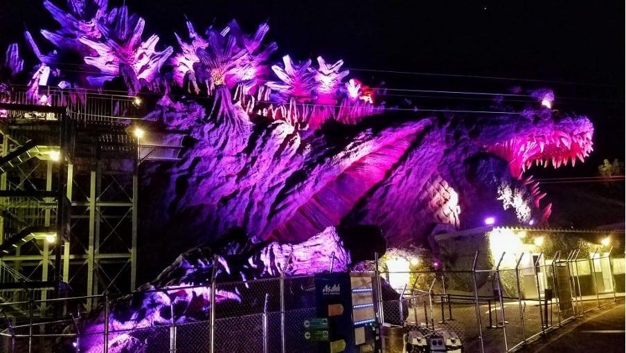 Zipline Godzilla