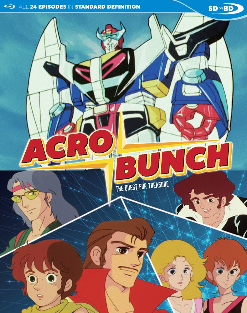 Acrobunch home video cover from Discotek