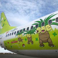 Hop Aboard the Exeggutor Themed Pokémon Plane