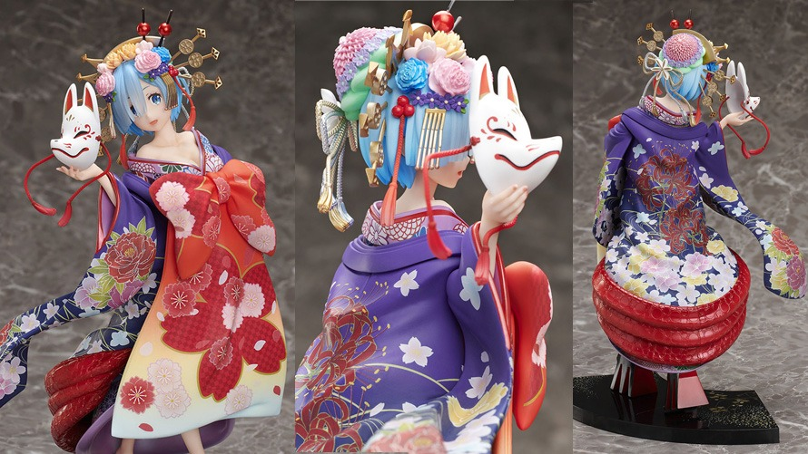 Furyu Oiran Dochu Version Rem Figure