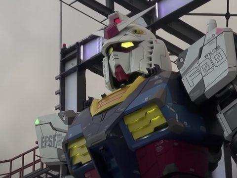 Yokohama's Giant Gundam Robot Officially in Guinness World Records