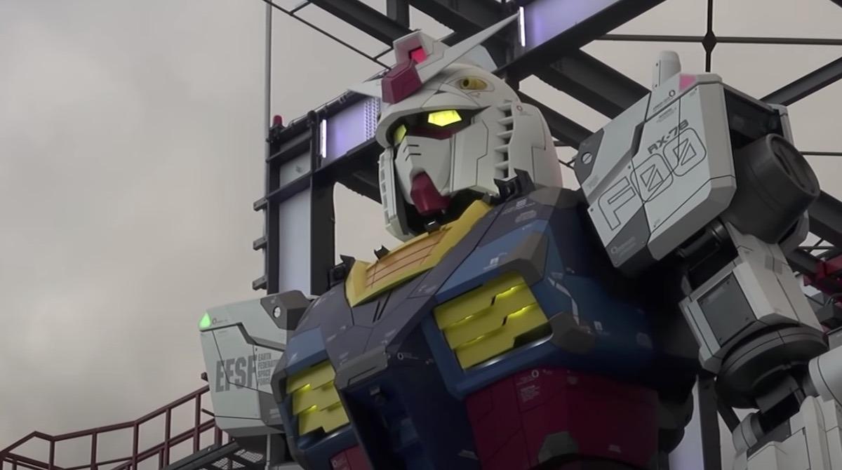 giant gundam robot