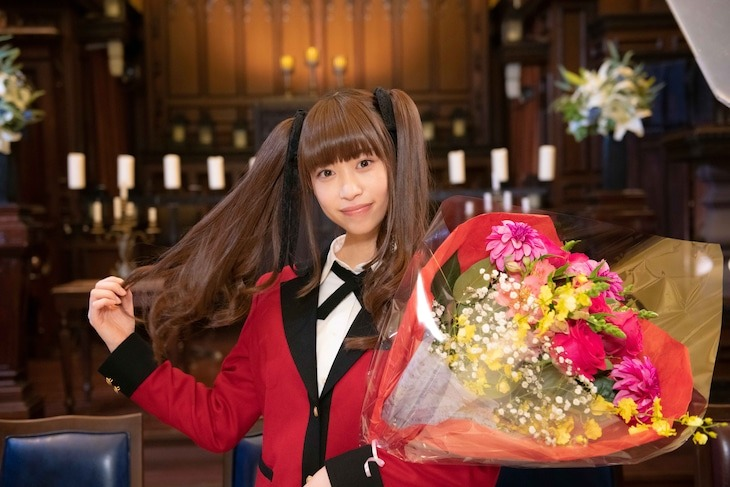 Kakegurui Spinoff Manga Kakegurui Twin Lands Live-Action Series