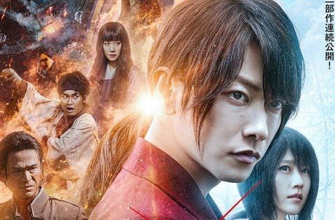 Live-Action Rurouni Kenshin Films Land Teaser Trailer, New Release Dates